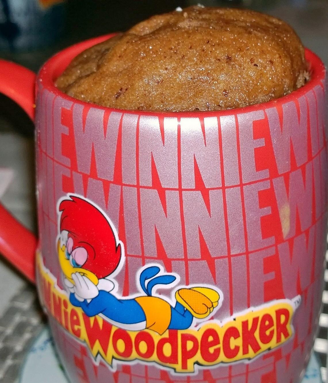 Mug cakes nutella