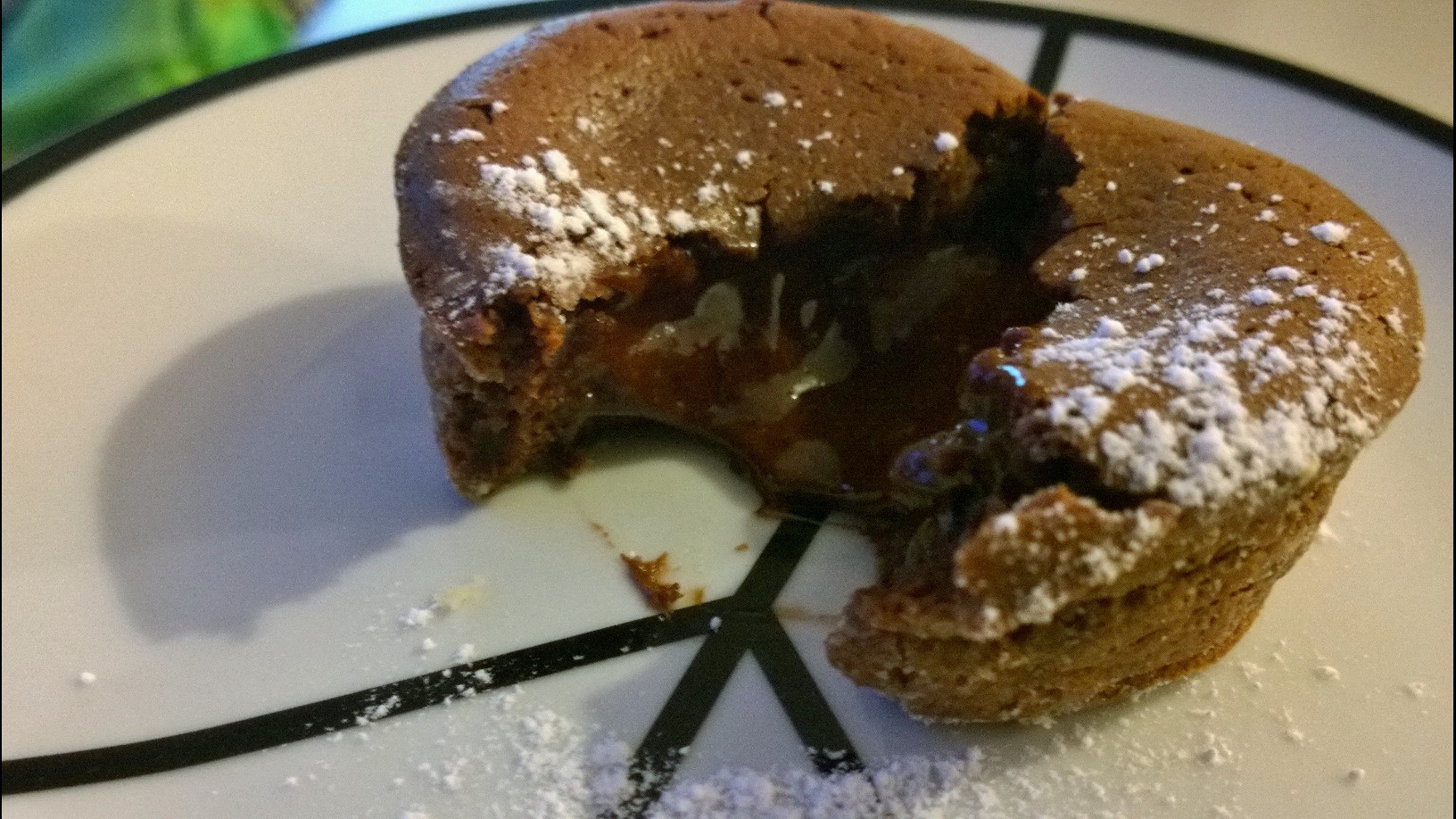 coeur nutella coulant